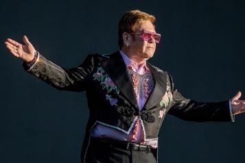 Record de top10 dans six décennies pour Elton John