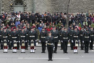 Jour du Souvenir La Légion royale canadienne recommande d'éviter les cérémonies )