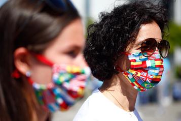 Le bilan de la pandémie dans le monde: plus de 350000morts)