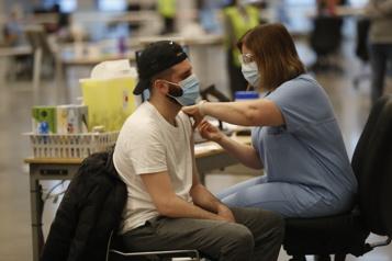 Vaccination sans rendez-vous Toutes les doses écoulées au Palais des congrès)