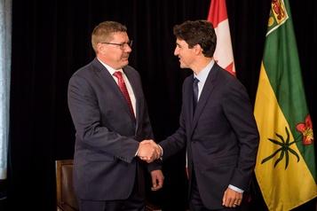 Le premier ministre de la Saskatchewan déçu de sa rencontre avec Trudeau