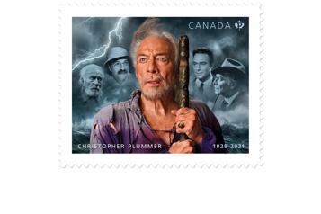 Un timbre commémoratif en l'honneur de Christopher Plummer