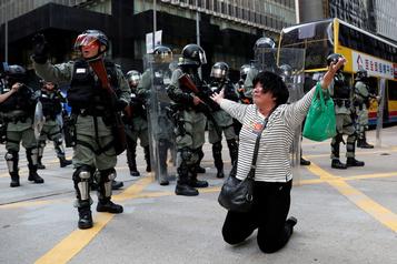 Trump assure qu'il a sauvé Hong Kong de l'anéantissement