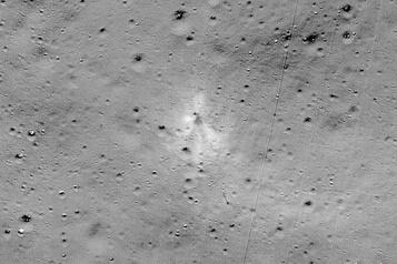 La NASA a trouvé le lieu d'impact d'une sonde indienne sur la Lune