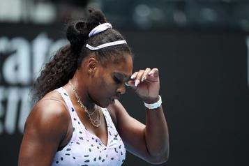 Internationaux d'Australie: Serena Williams éliminée au 3e tour