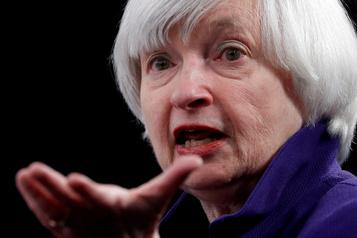 Janet Yellen au Trésor: «bonne nouvelle» pour l'économie mondiale)