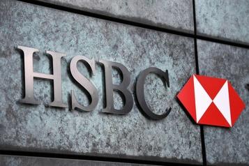 Le bénéfice de HSBC plombé par la COVID-19 )