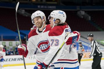 Le Canadien malmène les Canucks7-3)