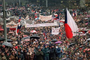 Révolution de veloursen Tchécoslovaquie: «Personne nesavait jusqu'oùçairait»