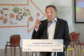 Plan d'action jeunesse 2021-2024  Québec investira 300millions en troisans)