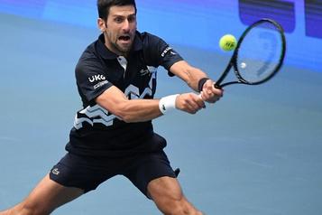 Tournoi de Vienne Djokovic presque assuré de finir l'annéeN.1 et d'égaler le record de Sampras)