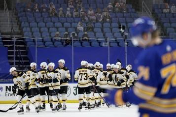 Sixième victoire de suite pour les Bruins)