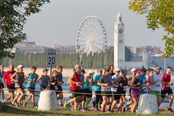 Marathon de Montréal: 12 000 coureurs dans les rues de la métropole