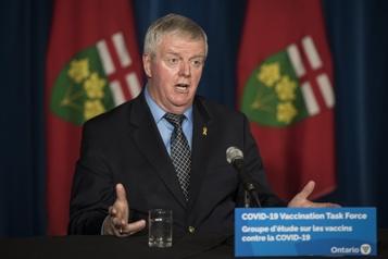 Vaccination en Ontario Pas avant le 15mars chez les 80ans et plus)