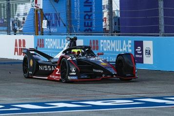 GP électrique de de Berlin: victoire d'Oliver Rowland)