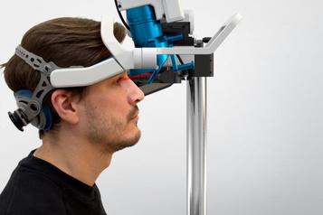 Innovation: un laser pour fortifier unerétine artificielle)