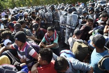 Le Mexique refoule 2300 Honduriens entrés avec une caravane humaine