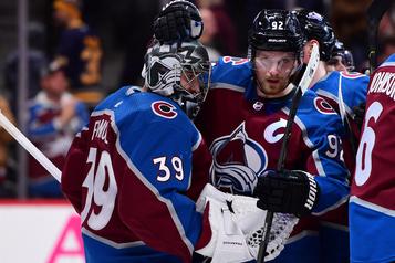 L'Avalanche bat de justesse les Sabres, 3-2