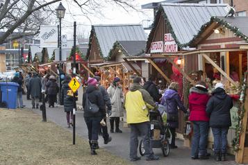 Les produits québécois auront la cote dans les bas de Noël cette année)