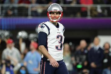 Les Patriots libèrent le botteur Stephen Gostkowski