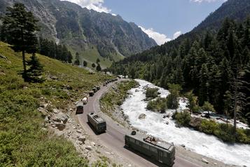 Les armées chinoise et indienne «se sont désengagées» de zones frontalières)