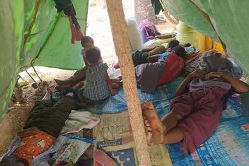 Répression en Birmanie Près de 250000 personnes déplacées)