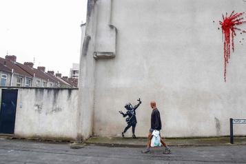 Une surprise signée Banksy pour la Saint-Valentin