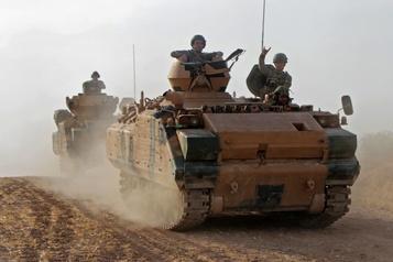 L'armée syrienne déployée dans le Nord, les soldats américains sur le départ