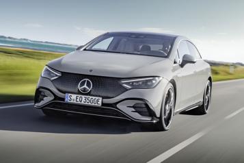 Salon de Munich Mercedes-Benz dévoile une kyrielle de modèles électriques)