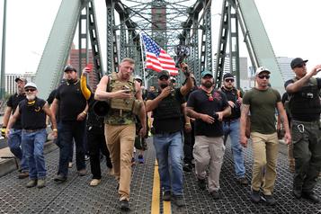 Pas d'incident majeur à Portland lors de manifestations des deux extrêmes