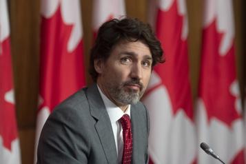 Trudeau rencontre les chefs de l'opposition avant le budget)