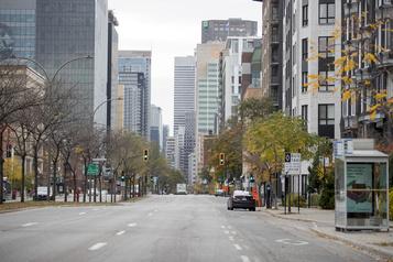Le centre-ville de Montréal aux soins intensifs )