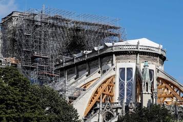 Notre-Dame: reprise du chantier de consolidation