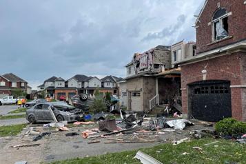 Ontario Plusieurs blessés dans une tornade à Barrie)