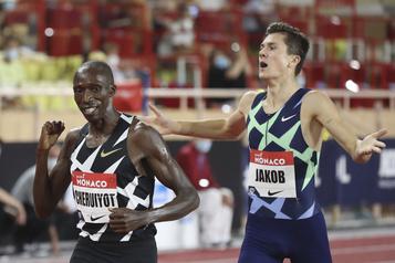 Athlétisme: record d'Europe du 1500m pour Ingebrigtsen, derrière Cheruiyot)