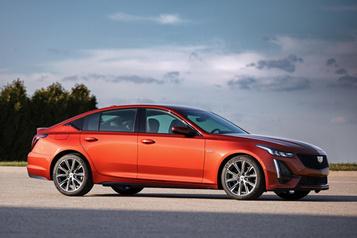 Cadillac mise sur le prix de la CT5 pourattirer les acheteurs