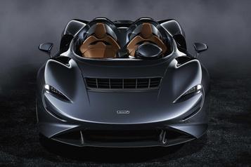 McLaren présente son ultime roadster, l'Elva