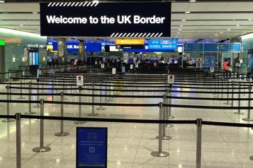 Royaume-Uni Une quarantaine imposée pour toutes les arrivées de l'étranger)