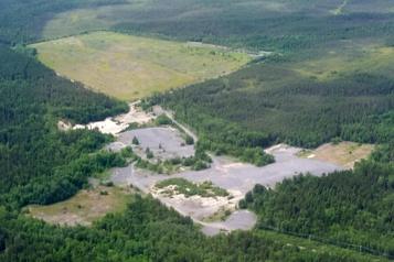 Exploration minière: prospection active definancement
