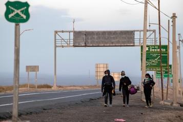 Dans l'Altiplano andin, sur la route des migrants vénézuéliens)