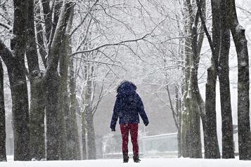 Une baisse considérable des chutes de neige au pays)