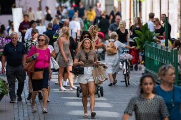 La Suède affiche une lourde chute du PIB, malgré le non-confinement)