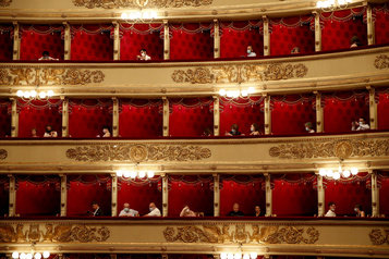 La Scala rouvrira progressivement en septembre)