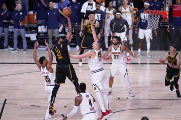 Finale de l'Ouest dans la NBA Anthony Davis a su saisir l'occasion)