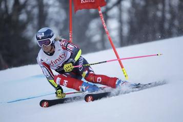 Marie-Michèle Gagnon craint de perdre la saison de ski à cause de la COVID-19)