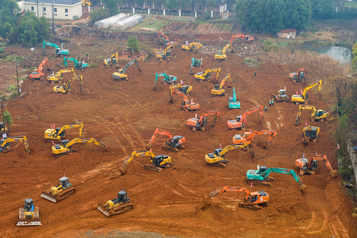 Chine: 10 jours pour construire un hôpital antivirus