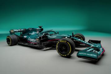 Formule 1 Aston Martin dévoile sa voiture pour 2021)