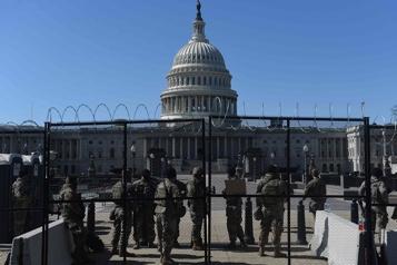 La Garde nationale pourrait rester deux mois de plus au Capitole)