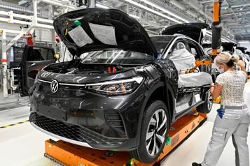 Ambitions électriques Volkswagen veut rattraper Tesla)