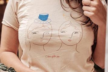 Mini-collection de chandails illustrés parIsabelle Feliu